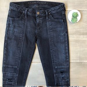 Citizens Of Humanity Logan Skinny Moto Jeans